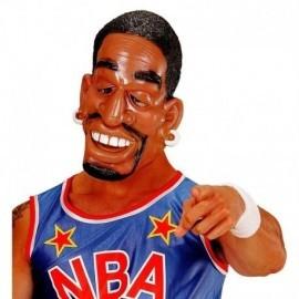 Mascara afroamericano negro baloncesto