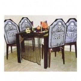 Respaldo silla lapida decoracion halloween 19633