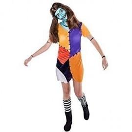 Disfraz de sally pesadilla talla xl mujer
