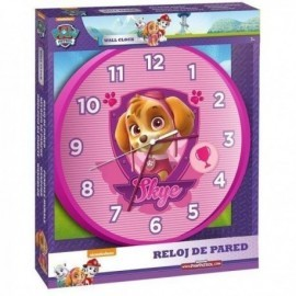 Reloj pared patrulla canina skye everest