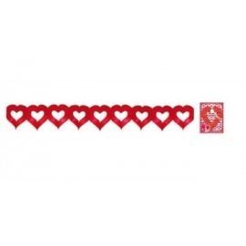 Guirnalda corazones 3 metros