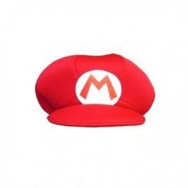 Gorro mario bros para adulto sombrero