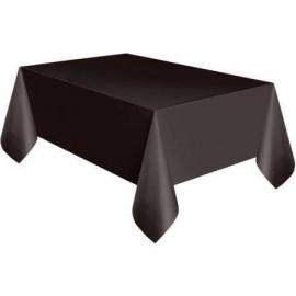 Mantel negro liso 137 x 274 cm
