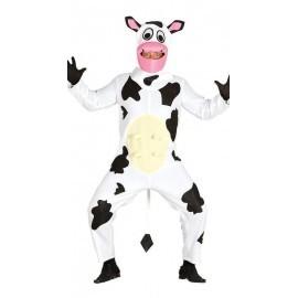 Disfraz de vaca graciosa adulto talla estandar