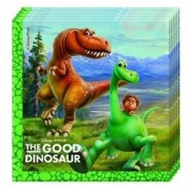 Servilletas dinosaurios el viaje de arlo 33x33 cm 20 uds