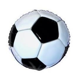 Globo balon de futbol foil 18 45 cm helio o aire