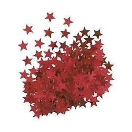 Confetti estrellas rojas 14 gr