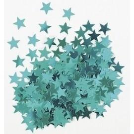 Cofetti estrellas azul turquesa 14 gr
