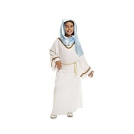 Disfraz de virgen maria para niña 1 a 2 años
