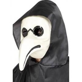 Mascara blanca doctor de la peste