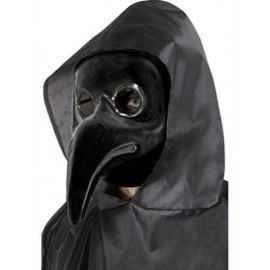 Mascara negra doctor de la peste