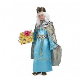 Disfraz de rey melchor deluxe para niño talla 6 a 7 años