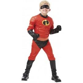 Disfraz barato Dash los increibles para niño