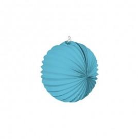 Farolillo azul claro 22 cm fiesta feria niño bebe