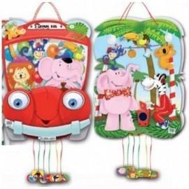 Piñata animales de la jungla 46x33 cm surtidas