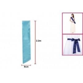 Banda azul 220x9 cm lisa