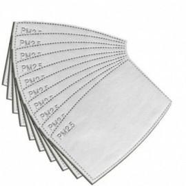 Filtro para mascarillas de carbon PM 2.5