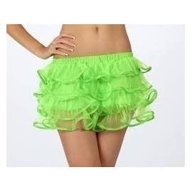 Tutu verde falda fluor 14824 talla m-l