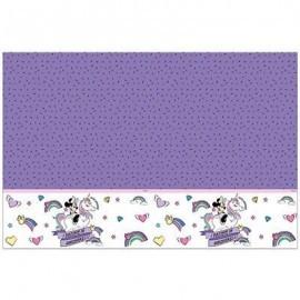 Mantel Minnie Mouse unicornio 120x180 cm