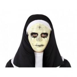 Mascara Purga boca cosida y cruz