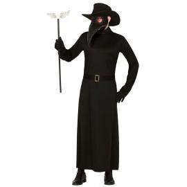 Disfraz barato Doctor de la peste hombre talla L 52-54