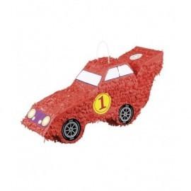 Piñata coche de formula 1 rojo 55 x 23 cm
