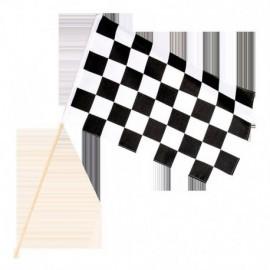 Bandera a cuadros formula 1 carrera coches