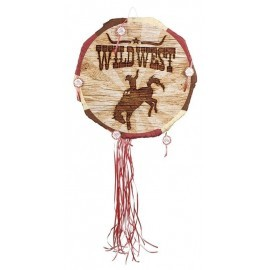 Piñata fiesta oeste vaquera 40 cm