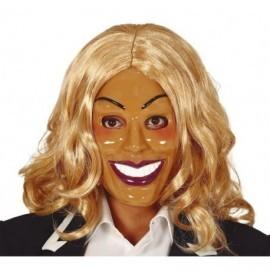 Mascara la purga mujer sonriente barata