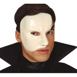 Mascara fantasma de la opera media cara