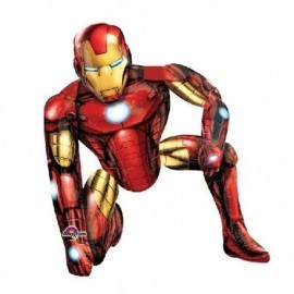 Globo barato Iron Man gigante 93x116 cm
