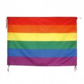 Bandera orgullo LGTBI barata 100 X 70 cm