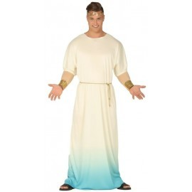 Disfraz barato Griego para hombre talla L 52-54