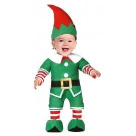 Disfraz barato elfo para bebe talla 12-24 meses