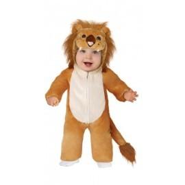 Disfraz barato leoncito peluche para bebe 12-18 meses