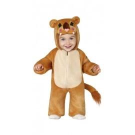 Disfraz barato leona peluche para bebe 12-18 meses