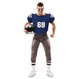 Disfraz barato jugador de futbol americano talla 52