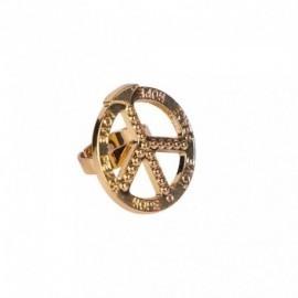 Anillo Hippie simbolo paz
