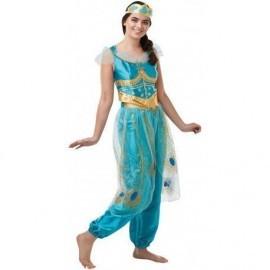 Disfraz barato Jasmine adulto talla S mujer Disney