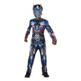Disfraz barato Optimus Prime transformes 5 niño talla 5-6 años