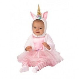 Disfraz barato dulce unicornio para bebe talla 1-2 años