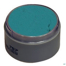 Maquillaje verde 402 al agua grimas profesional 15 ml