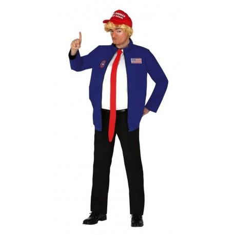 Disfraz barato presidente USA Donald Trump