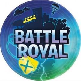 Platos Battle Royal simil Fornite 8 uds 33 cm