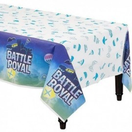 Mantel Battle Royal simil Fornite 137x240 cm