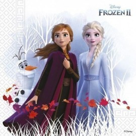 Servilletas Frozen 2 cumpleaños 20 uds