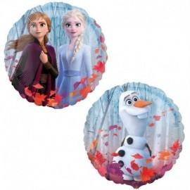 Globo Frozen 2 45 cm helio o aire