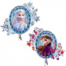 Globo Frozen 2 Elsa y Anna 76x66 cm
