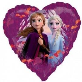 Globo Frozen 2 corazon 45 cm