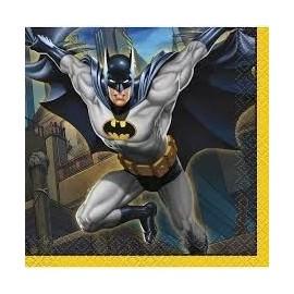 Servilletas Batman cumpleaños 16 uds